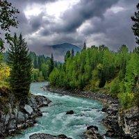 Река Катунь, Горный Алтай :: Валерий Толмачев