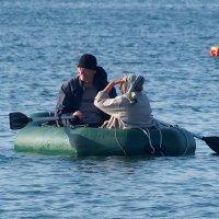 Обманула нас золотая рыбка,не дала нам белую яхту! :: Наталья