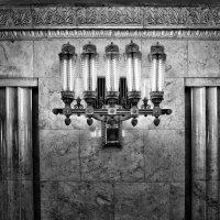 Московское метро. Черно-белая Смоленская :: Андрей Левин