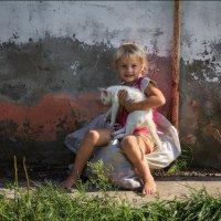 Сельская девочка Диана :: Елена Ерошевич