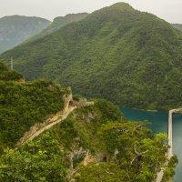 Каньон реки Пива. Мост на Никшич :: Gennadiy Karasev