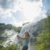 Алибекский водопад :: Евгений Khripp