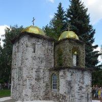 Ильинская церковь из бересты :: Savayr