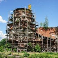 Церковь Варлаама Хутынского в Николаевском Косинском монастыре :: Елена Павлова (Смолова)