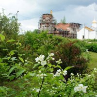 Постройки Свято-Никольского Косинского женского монастыря в деревне Косино :: Елена Павлова (Смолова)