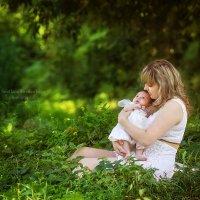 Нет ничего сильнее на всем белом свете, чем любовь мамы к своему ребенку... :: Светлана Светленькая