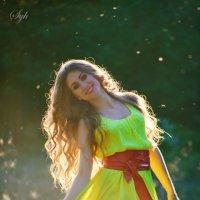 Солнечная Кристина. :: Юля Сухарева