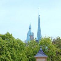 три в одном, или 3 главные достопримечательности Эрфурта :: Olga