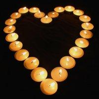 Сердце из свечей. :: Ольга Анх