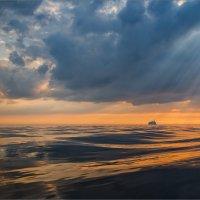 Вечером на заливе. :: Юрий