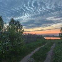 Рассвет за околицей :: Валентин Котляров