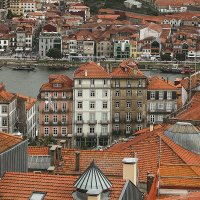Квартал Рибейра в Порту (Португалия) :: Светлана Коклягина