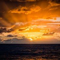 Закат на балтийском море :: Ольга Кан