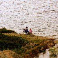 Рыбаки на Бухтарме. :: Мила Бовкун