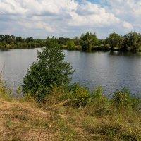 Озеро в с. Ахпаевка. :: Андрей Самсонов