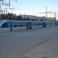 скоростной поезд :: Марина Титкова