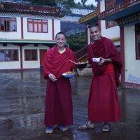 Индия. Буддийские монахи :: Gal` ka