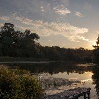 Закат на реке :: Olga Golub