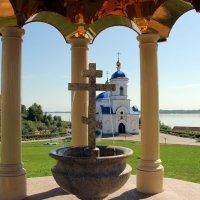 Свято-Богородичный мужской монастырь Казанской иконы Божьей Матери :: Александр Алексеев
