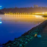 Коломенское ночью. Москва-река :: Игорь Герман