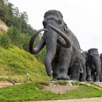 Ханты-Мансийск, Археопарк, мамонты :: Михаил Рехметов