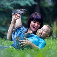 Хорошо с мамой :: Евгения Виноградова