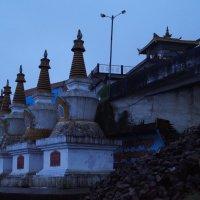 Индия. Будийский храм :: Gal` ka