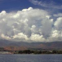 небо,озеро,облака, :: Сергей Савич.