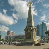 Памятник в честь 200-летия Кубанского казачьего войска :: Игорь Хижняк