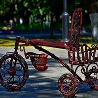 Памятник велосипед :: Евгений