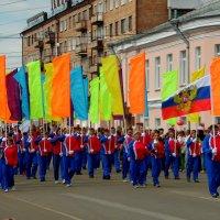 Идут спортсмены. :: nadyasilyuk Вознюк