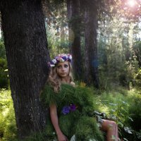 Богиня леса :: Екатерина Лазарева