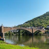 Мост через Мозель в городе Кохэм :: Witalij Loewin