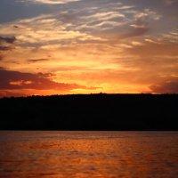 Закат на реке Дон :: Мария