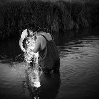Ночная рыбалка сетями :: Ilona An
