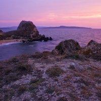 Пурпурный вечер. :: владимир