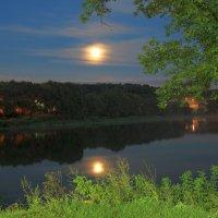 Луна над Белоусовским парком. :: Инна Щелокова