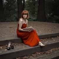 Маша в красном :: Alexx Strelkovv