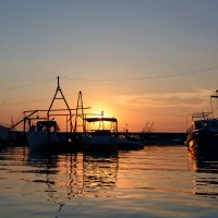 Летний закат на Волге :: Оксана Сафонова