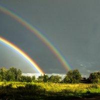 Двойная радуга :: Олег