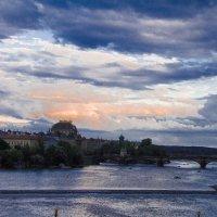 Вид с Карлова Моста, Прага :: Алёна Маненкова