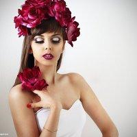 Фотопроект Lady Flower: роза :: Анастасия Тищенко