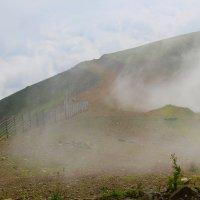 Густой туман или облака? :: Ольга Анх
