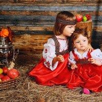 Детская фотосессия в стиле Русь :: Oksanka Kraft