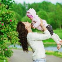 Очаровательная Алиса и ее мамочка- красотка - Марина! :: Полина Артемова