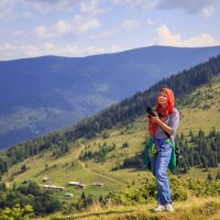 Аня в Карпатах :: ViP_ Photographer