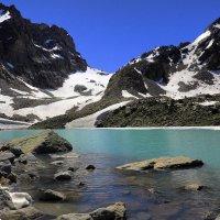 Высокогорное озеро :: Михаил Баевский