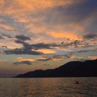 Красивый закат. :: Оля Богданович