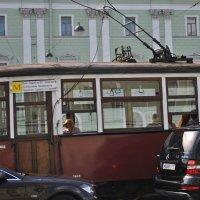Ретро трамвай :: Alexandr Engels