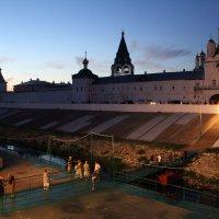 Пристань Макарьевский монастырь :: Александр Алексеев